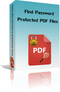 Find Password Protected PDF Files