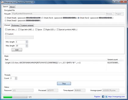 Excel Passwort Entfernen