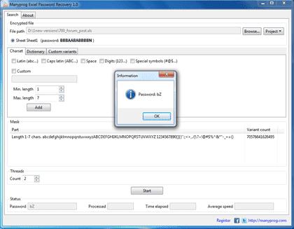 How to hack Excel password