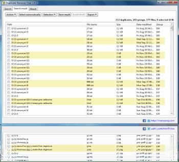 Trova i file duplicati