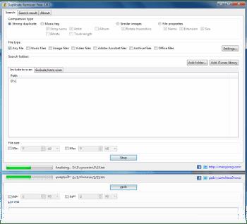 Finne og fjerne dupliserte filer